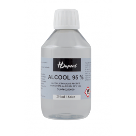 Alcool industriel 95° H Dupont - 250 ml