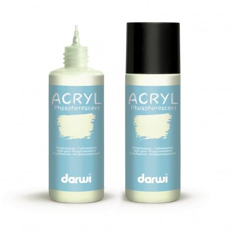 Peinture acrylique phosphorescente Darwi