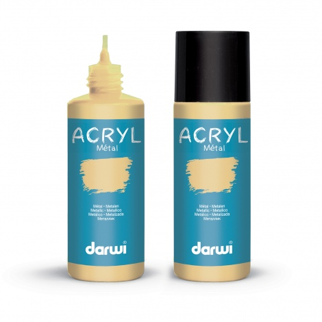 Darwi Acrylfarben, metallic