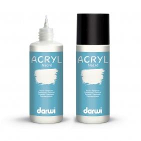 Darwi Acrylfarben, perlmutt