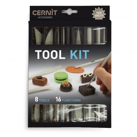 Kit d'outils pour pâte polymère Cernit