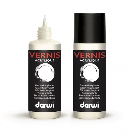 Vernis acrylique brillant 80ml
