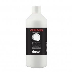 Vernis acrylique brillant 500ml