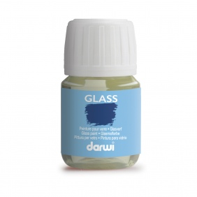 Glass paints