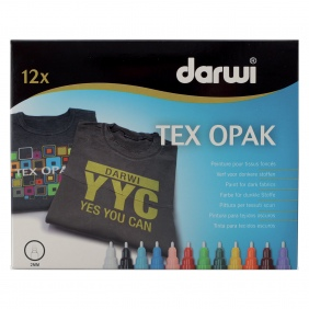 Tex Opak fabric markers