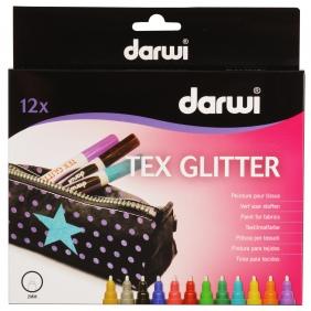 Marqueurs Tex Glitter boite