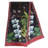 Seidentücher mit vorgedruckten Guttalinien - Orchidée
