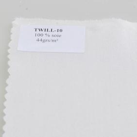 Foulards pré-roulottés en Twill 10 - Twill 10 - Foulard 90 x 90 cm