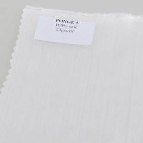 Foulards et mouchoirs pré-roulottés en Soie Pongé - Pongé 05 - Tuch 28 x 28 cm