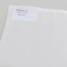 Foulards et mouchoirs pré-roulottés en Soie Pongé