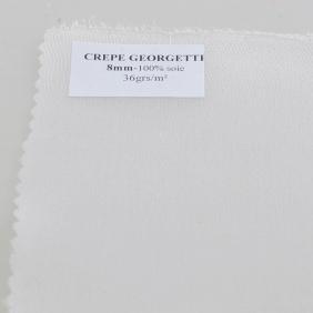Echarpe pré-roulottée en Crêpe Georgette