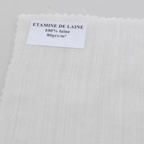Etamine de laine