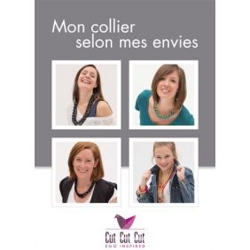 """Livre """"Mon collier selon mes envies"""""""