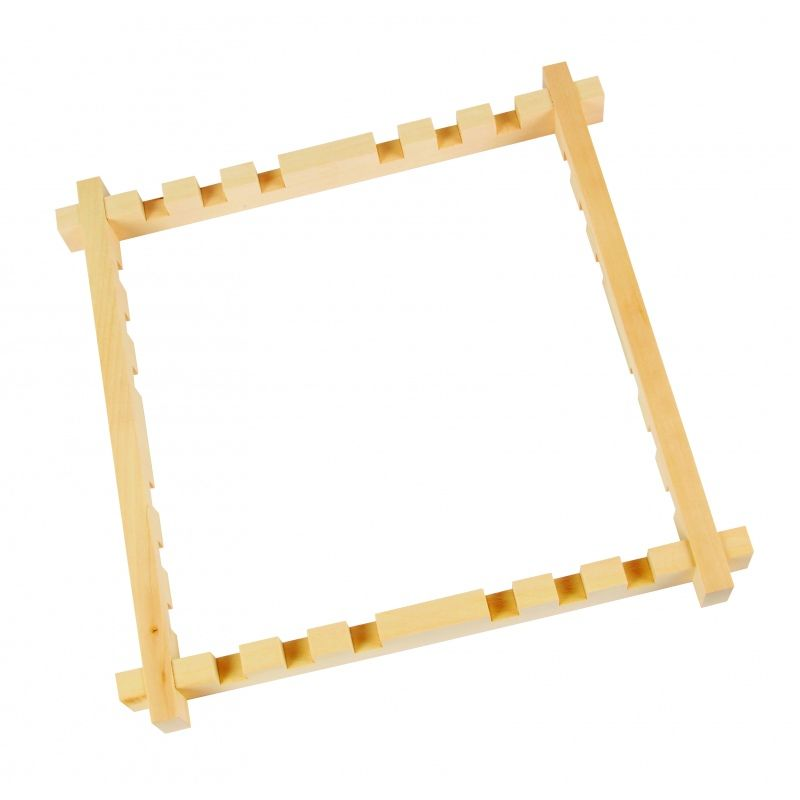 Adjustable Wooden Slotted Frames