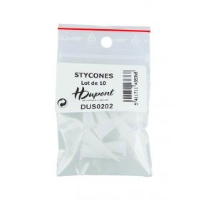 Bag of 10 stycones
