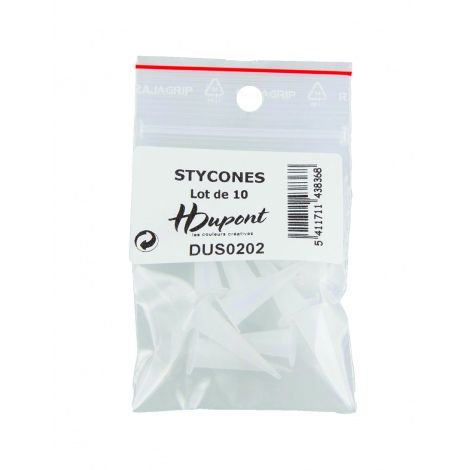 Bag of 10 stycones