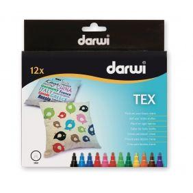 Marqueurs textiles Darwi Tex
