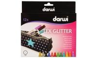 Tex Glitter - Peinture pailletée pour textiles